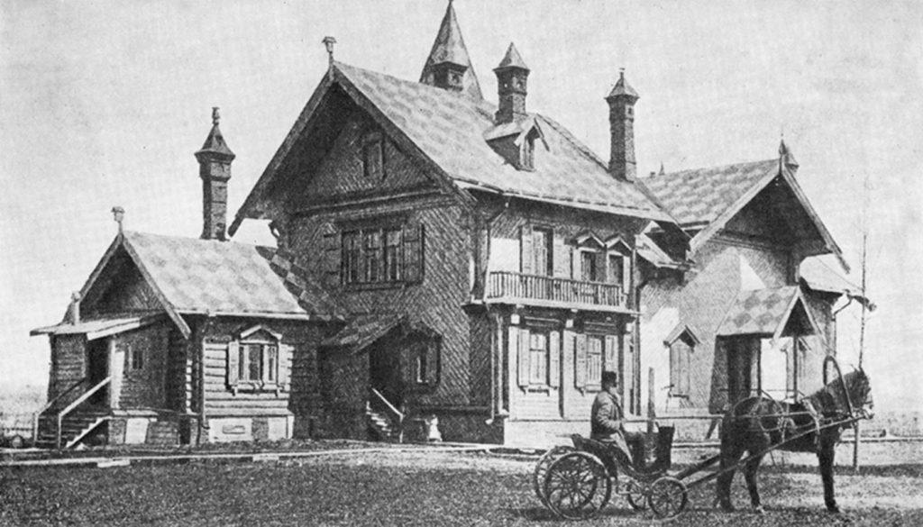 Дом-мастерская В.В. Верещагина