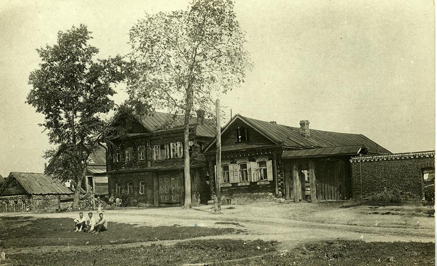Село Коломенское. Нижняя улица. 1930, Барщевский