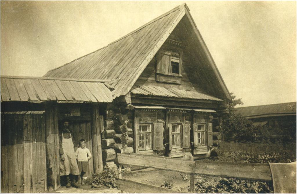 Дом первой половины XIX в. в селе Коломенское Барщевский