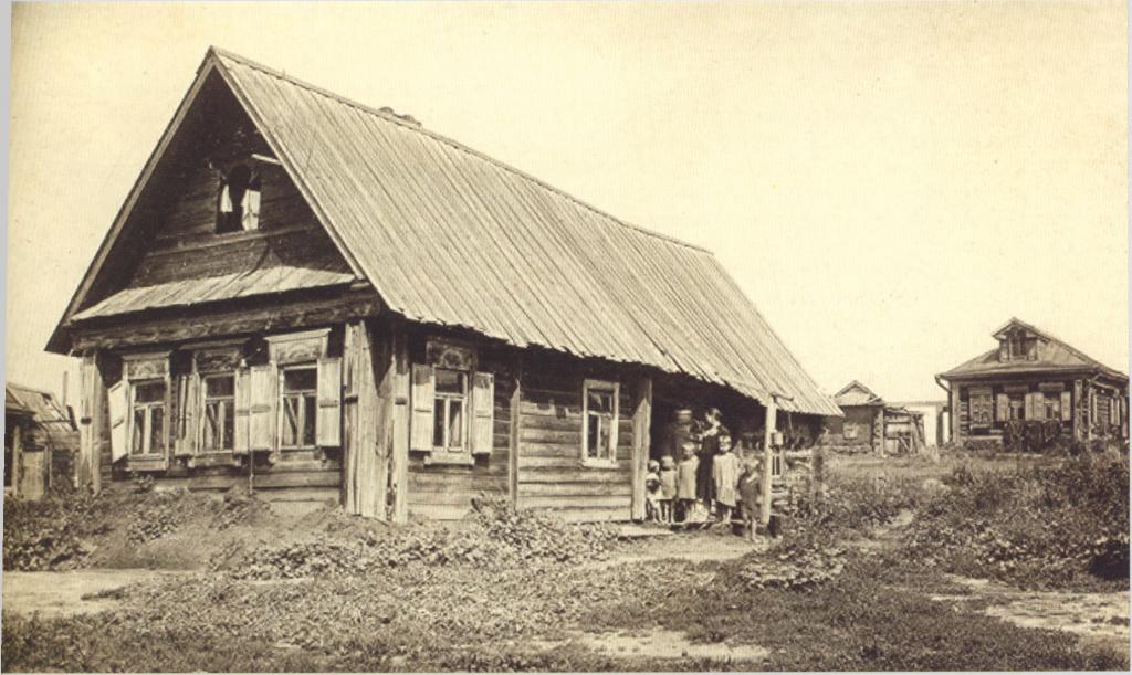 Село Коломенское в голодные 1930 Барщевский