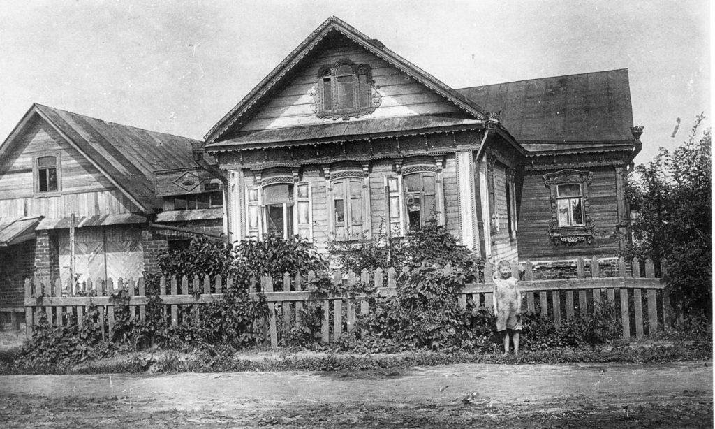 Село Коломенское, Улица Нижняя. Бврщквский, 1936