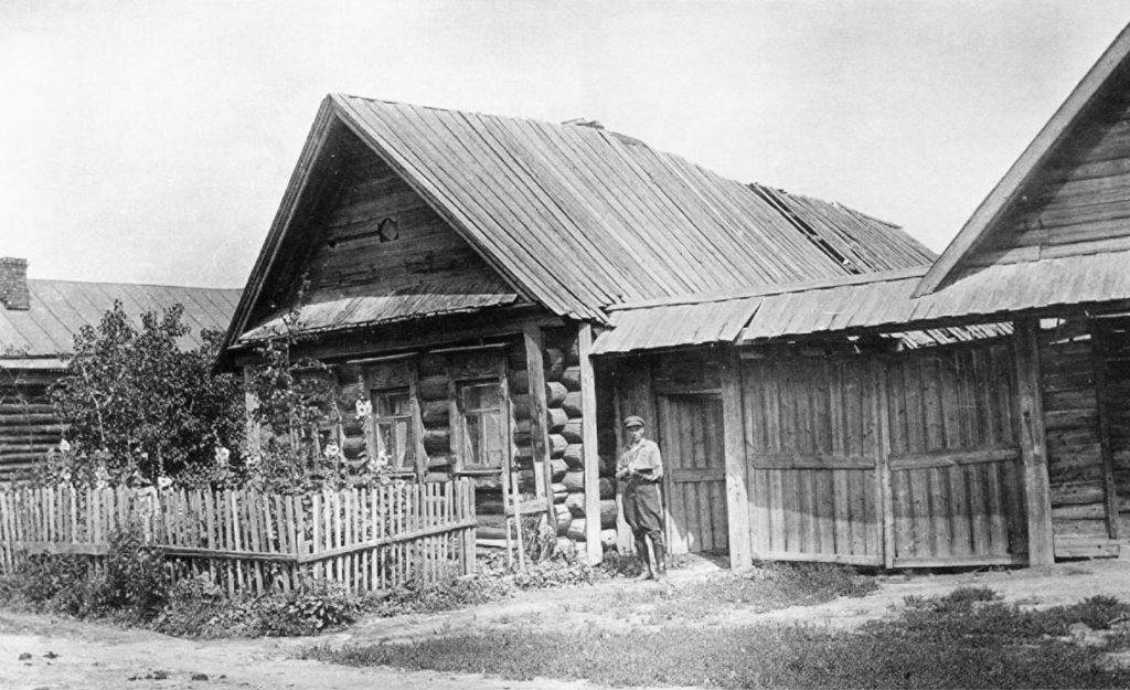 Село коломенское. Дом Монахова. Барщевский. 1936