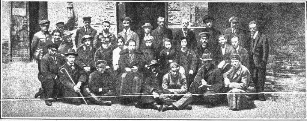 1921 году Мариенгоф и Есенин в тюрьме
